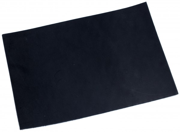 Blankleder schwarz ca. 3,0mm (200x300mm)