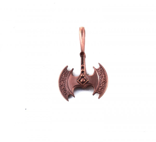 Anhänger Minoische Doppelaxtpaar Bronze