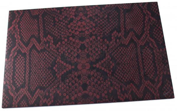 Kydex Platte 2mm Snake Skin - Blood Rattler (ca. 300 x 200mm)