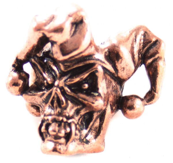 Jester Bead Antik Kupfer