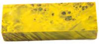 Raffir™ stabilisiertes Pappelmaserholz limone