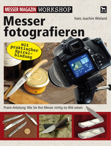 Buch Workshop Messer fotografieren