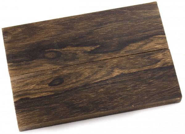 Holz Ziricote, Griffschalenpaar