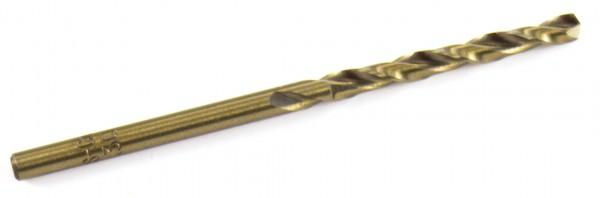 Bohrer HSS-G Co 5% - Bohrer für Stahl 3,3mm (Länge:65mm)
