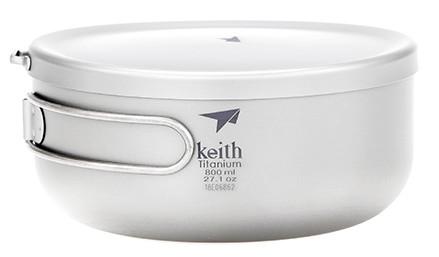 Keith Titanium Lunch-Box 800ml