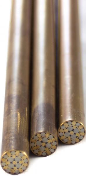 Mosaik Pin 8mm, Messing