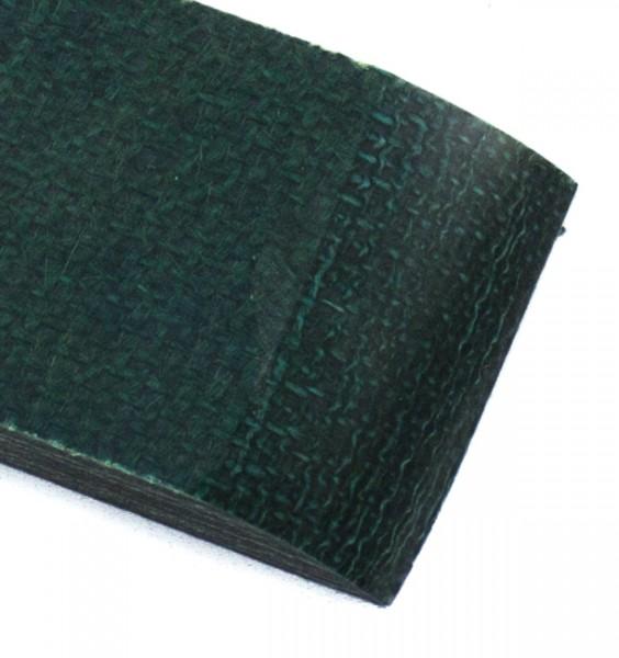Jute Micarta grün, Griffschalenpaar 9mm