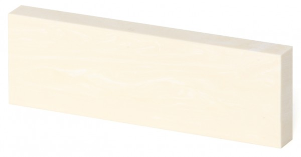 elforyn Farbe elfenbein gemasert, Griffschale