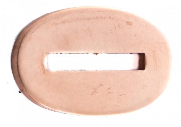 Passung Bronze 21x32x3mm - Schlitzmaß: 20x3,2mm