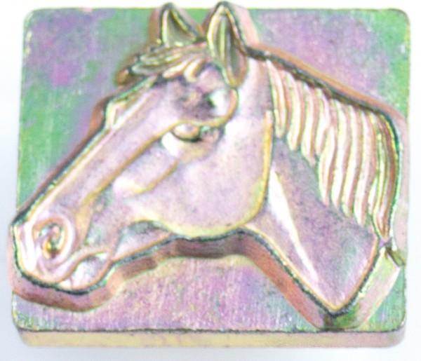 3-D Punze Pferdekopf