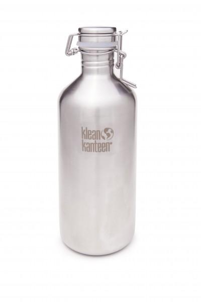Klean Kanteen Flasche 'Classic Growler' - edelstahl, 1,182 L