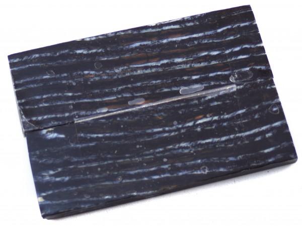Raffir® Mammutbackenzahn Griffschalenpaar dunkel
