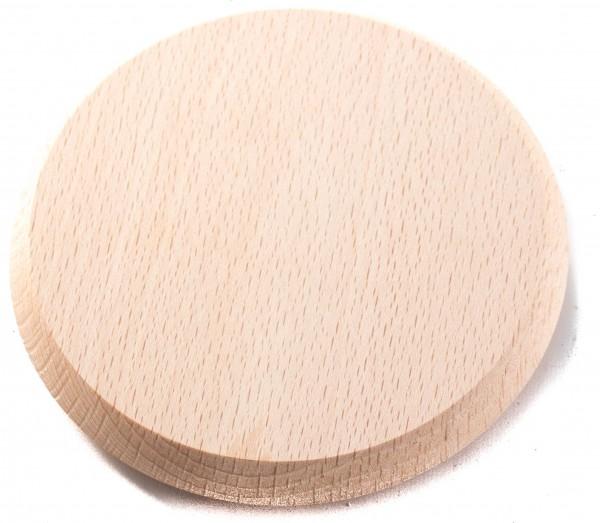 Becherdeckel aus Holz