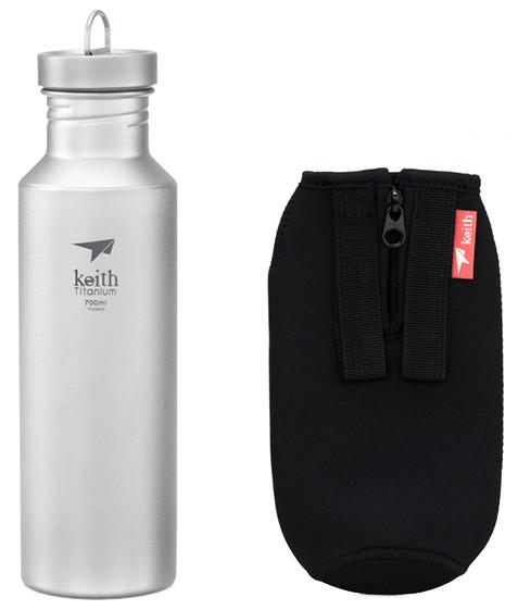 Keith Titanium Trinkflasche 700ml