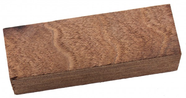 Holzlaminat Block braun