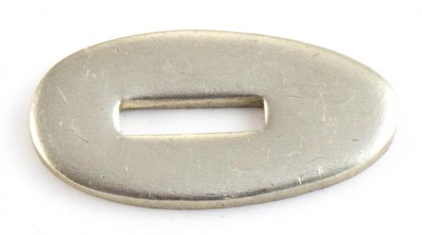 Passung Neusilber 18x35x3mm Fingerschutz - Schlitzmaß: 12x3,2mm