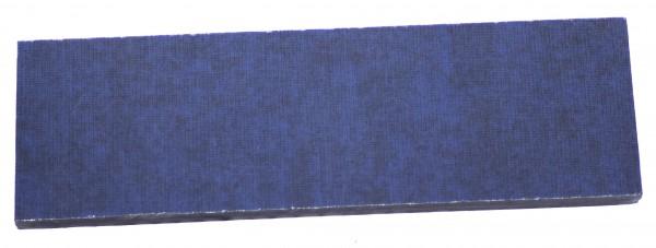 Leinen-Micarta blau/schwarz
