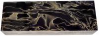 Raffir® Noble Wave brass, black