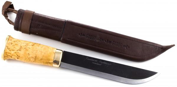 Kauhavan Puukkopaja Leukku 210mm, carbon schwarze Klinge