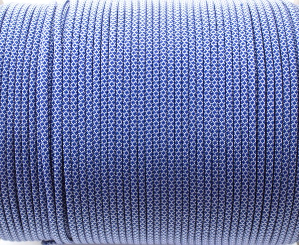 Paracord 550 - 5m White blue snake
