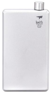 Keith Titanium Flachmann 120ml