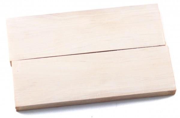 Holz Hainbuche, Griffschalenpaar