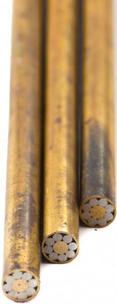 Mosaik Pin 5mm, Messing