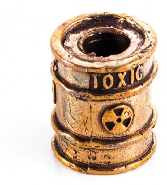 Toxic Barrel Lanyard Bead Messing