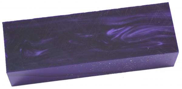Kirinite Wicked Purple MOP, Block