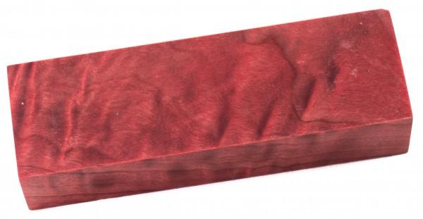 Raffir® stabilisiertes geflammtes Pappelholz rot