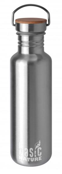 """Outdoor-Trinkflasche Edelstahl 0,75 L matt """"active"""""""