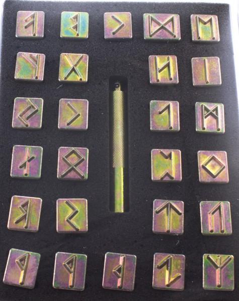 Punzier-Set Runen Alphabet