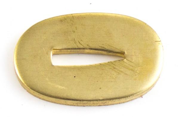 Passung Messing 19x30x3mm V-Schlitz - Schlitzmaß: 3,2mm