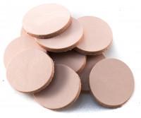 Lederstücke aus Rindsleder, 3mm stark (10 Stück)
