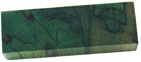 Raffir® stabilisierte Buche, gestockt cross cut grün