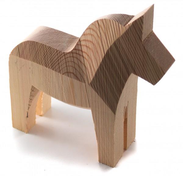 Dala-Pferd 20cm Rohling
