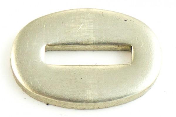 Passung Neusilber 16x24x3mm - Schlitzmaß: 13x3,2mm