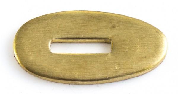 Passung Messing 18x35x3mm Fingerschutz - Schlitzmaß: 12x3,2mm
