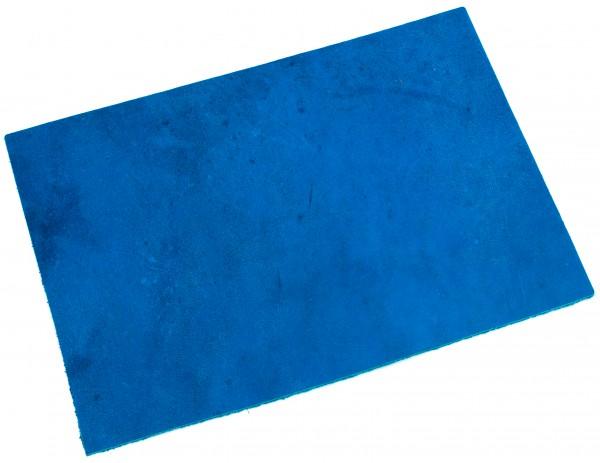 Blankleder Stück Farbe blau, ca. 3,0mm (200x300mm)