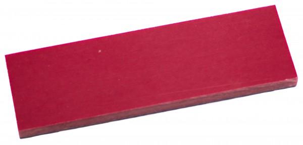 Leinen-Micarta rot mit schwarzem Liner