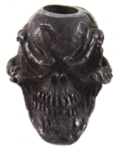 Grinsender Skull schwarz