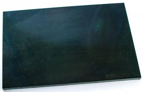 Leinen-Micarta schwarz/grün/grau Platte 8mm
