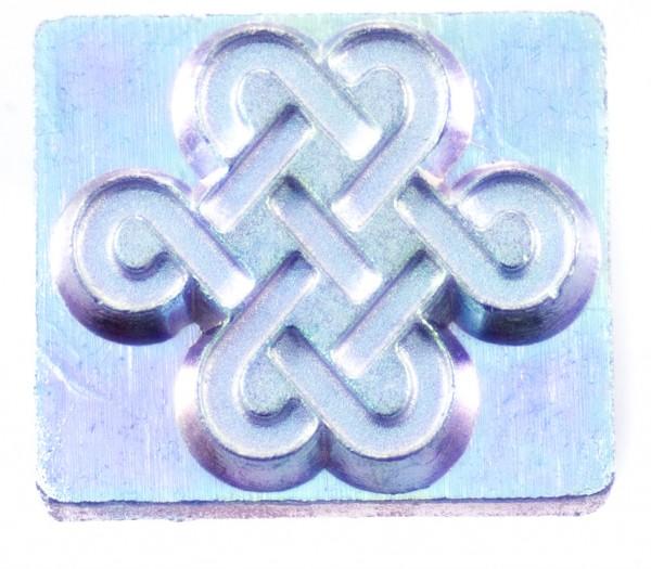 3-D Punze keltischer Knoten