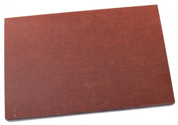 Canvas Micarta braun Platte 9mm