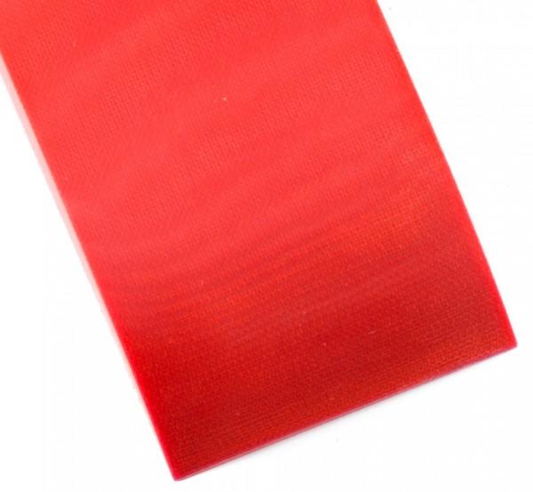 Leinen Micarta neon orange, Griffschalenpaar 9mm