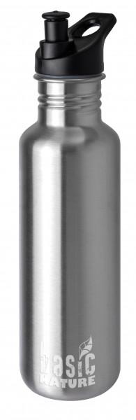 """Outdoor-Trinkflasche Edelstahl 0,75 L matt """"sport"""""""