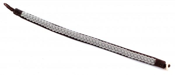 Sami Armband braun, 19cm
