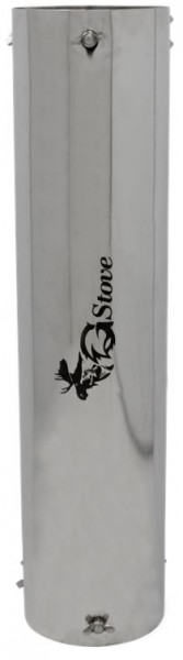 G-Stove Hitzeschutz-Rohr extra lang (12cm Durchmesser)