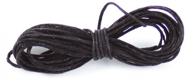 Leinengarn 1,5m schwarz