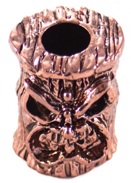 Ona Tiki Bead Antik Kupfer